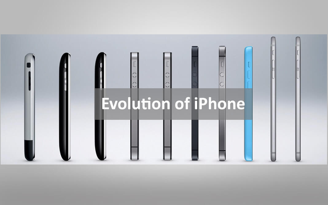 Evolution of iphone